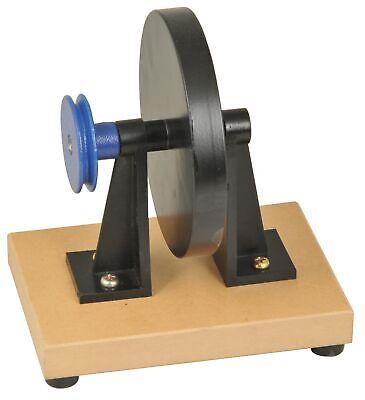 Energy Transfer Apparatus Malvern Fly Wheel Unit 6 Diameter Iron -eisco Labs