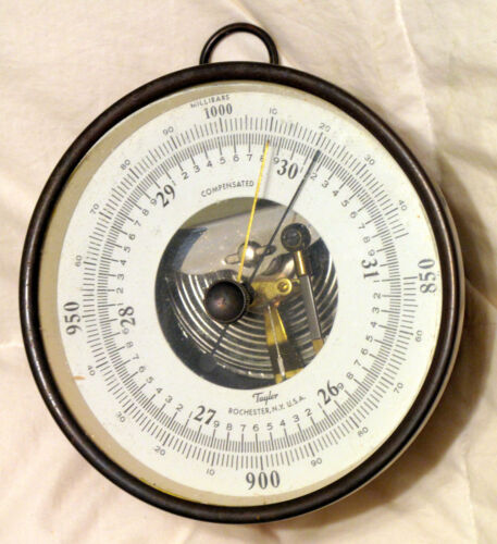 RARE Barometer Gauge Taylor Instrument! GORGEOUS CONDITION! L@@K!