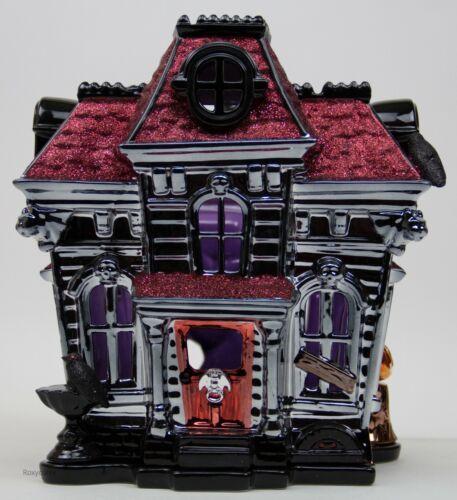 Halloween 2019 Bath & Body Works Haunted House Inn 3 Wick Candle Holder Luminary