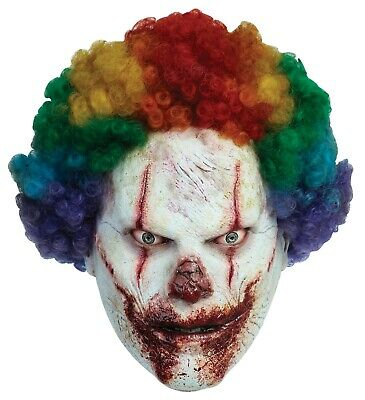 Halloween SCARY CLOWN Adult Latex Deluxe Mask Ghoulish Productions ()