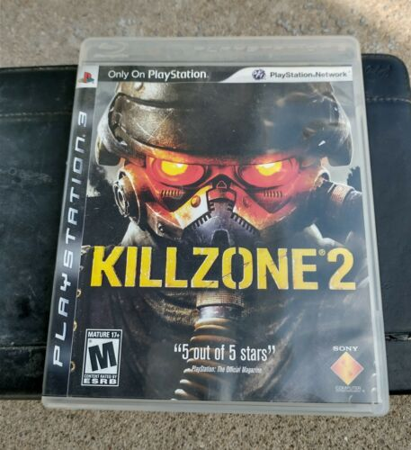 Killzone 2 Sony PlayStation 3, 2009 COMPLETE  - $4.50