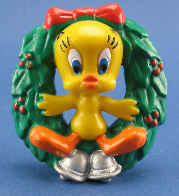 Bunny Kranz (Bully - Tweety im Weihnachtskranz - Bugs Bunny - Comic-Figur - Bullyland 1983)