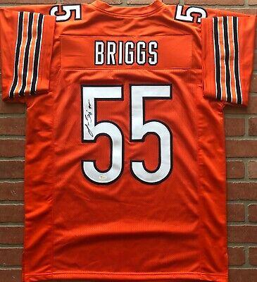 ab32aefe18e Lance Briggs autographed signed jersey NFL Chicago Bears JSA w/ COA