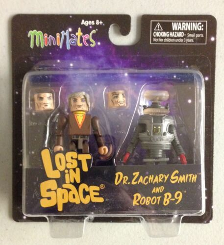 Minimates Lost in Space Dr Smith and The B-9 Robot - MOC set