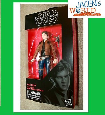 Han Solo Figure Wave 16 6 inch Star Wars The Black Series  IN-HAND!!! MINT BOX