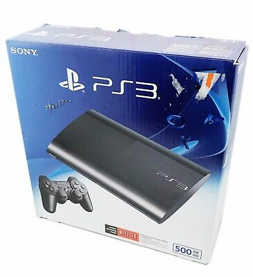 Sony Playstation 3 Ps3 500Gb Console System   Controller Bundle
