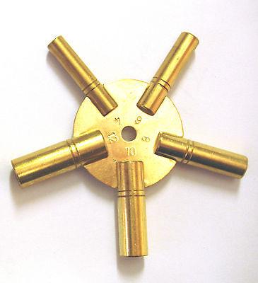 Uhrenschlüssel (4-6-8-10-12 ) Uhren Schlüssel Aufzugschlüssel Aufziehschlüssel