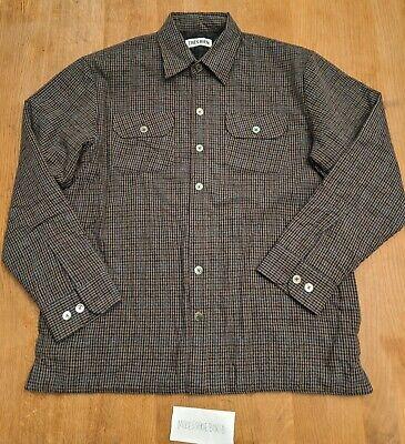 Très Bien Quilted Wool Overshirt 50 L