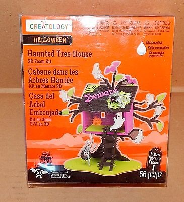 Halloween 3D Foam Kit 56pc Creatology 6+ Haunted Tree House From Michaels 35I - Creatology Halloween 3d Foam Kit