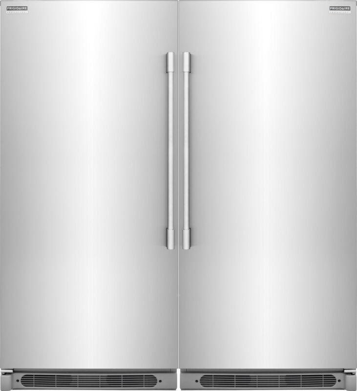 Frigidaire Pro Stainless Refrigerator & Freezer Combo Fpru19f8rf Fpfu19f8rf