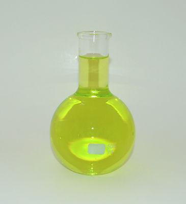 Flat Bottom Long Neck Boiling Flask Vase 500ml Borosilicate Glass Irregular