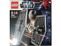 Lego Star Wars sw0268a aus Set 9492 #1137 TIE Fighter Pilot