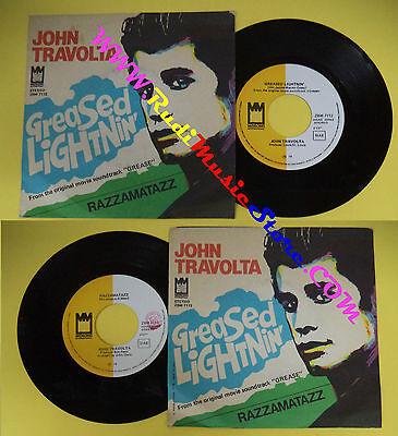 LP 45 7''JOHN TRAVOLTA Greased lightnin'Razzamatazz 1978 italy MIDSONG*cd mc dvd (Lightnin Mc)