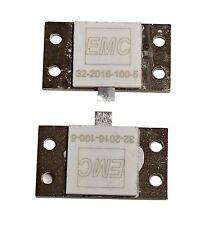 2 ea 800 Watt Hybrid 100 ohm Load Resistor to 500 mHz - Build a 1500 watt Load