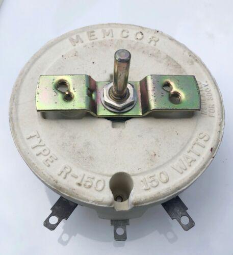Miller OEM A-039272 1250 Ohm 0.346 Amp Memcor Rheostat Var Power Resistor 039272