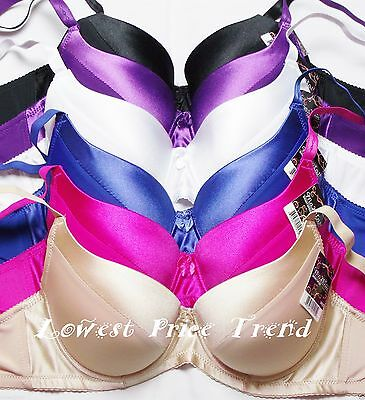 Lot of 6 pcs Push-Up Bras Available Size 38DD New BR9072P