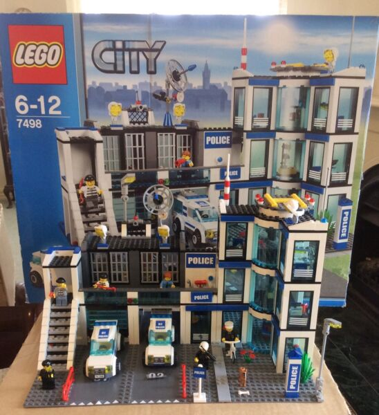 Lego 7498 Lego City Police Station Toys Indoor Gumtree