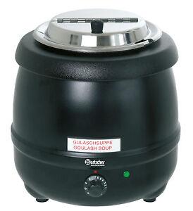 elektrischer Bartscher Suppentopf Suppenerwärmer Suppenerhitzer 100061  9 Liter