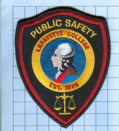 POLICE PATCH -  LAFAYETTE COLLEGE PA
