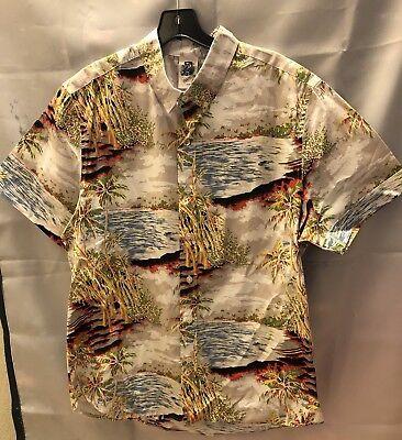 Kennington Ltd. Men's Shirt Size Large Hawaiian