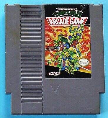 Teenage Mutant Ninja Turtles 2: The Arcade Game (Nintendo NES, 1990) AUTHENTIC!