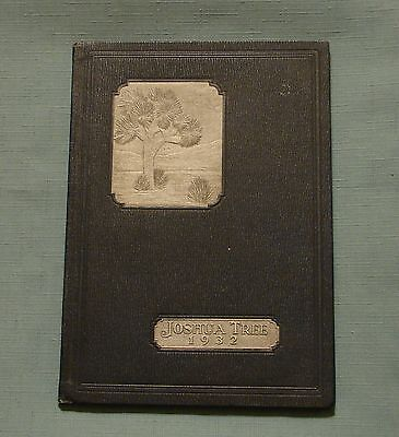 1932 VICTOR VALLEY UNION HIGH SCHOOL YEARBOOK VICTORVILLE (Victor Valley California)