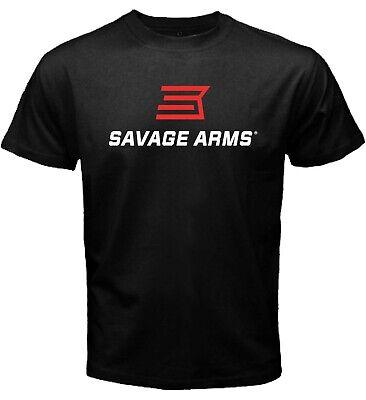 Savage Arms Shotgun Rifle Handgun Firearms Deer Hunting Black T-shirt Size S-5XL