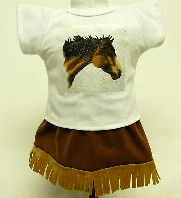 Western Themed Outfits (Western Horse Themed Outfit For 18 Inch Doll)