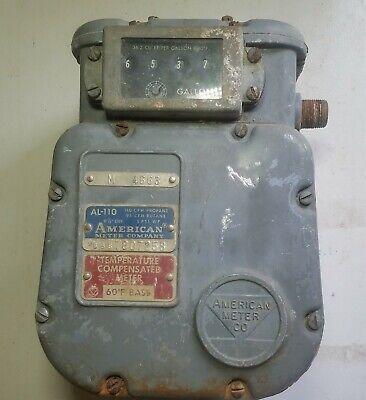 Make Me An Offer American Meter Company Vintage Al-110 Natural Gas Meter
