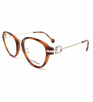 Salvatore Ferragamo Eyeglasses SF2826 212 Light Tortoise Oval Women 51x18x140