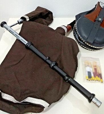 Booklet /& Bag GeoffreyIrish Uilleann Bagpipe Half Set2 reed sets