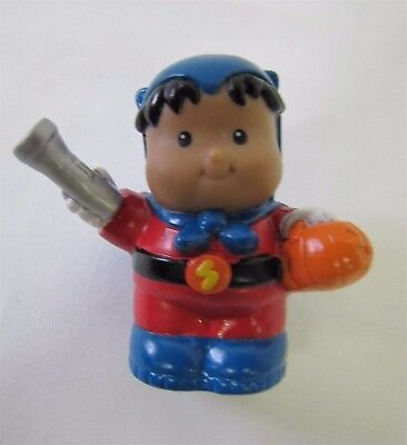 New Fisher Price Little People ROBERTO SUPER HERO HALLOWEEN Hispanic BOY - Hispanic Halloween Costumes