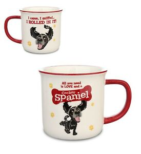 Black Cocker Spaniel Dog Mug Gift/Present