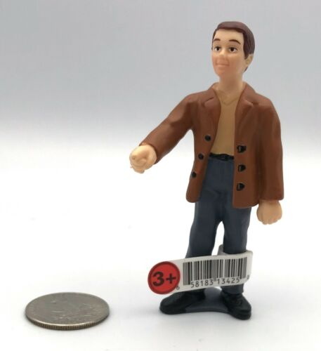 Schleich STANDING MAN Jacket Jeans Hand Out Figure 2001 Retired w/Tag RARE!
