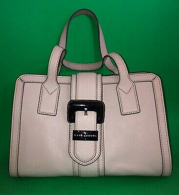 Marc by Marc Jacobs Gray Handle Leather Flap Satchel Bag $395 List