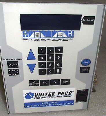Miyachi Unitek Peco Dc 25 Linear Dc Welding System With 3-month Warranty