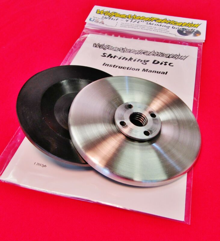 "SD4Kit, 4.5"" ""Easy Shrink""™ Shrinking Disc Kit, 4 1/2"" grinder shrinker tool"