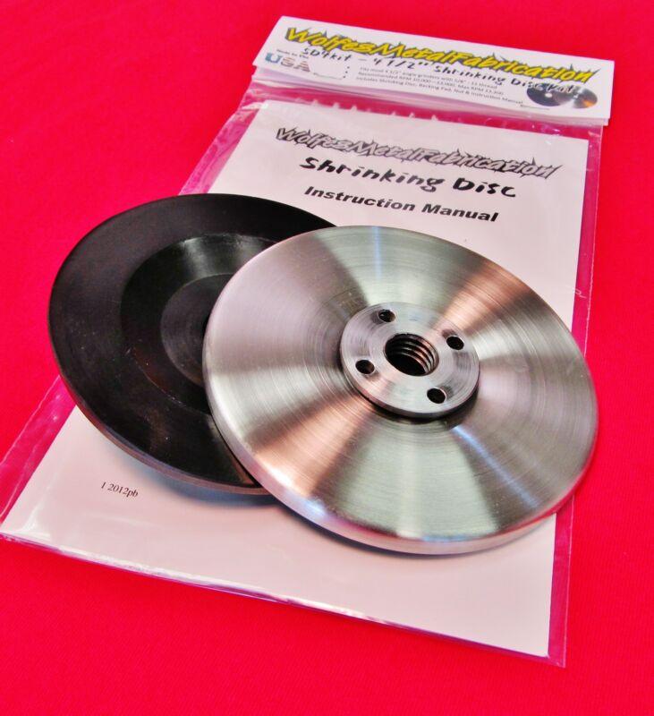 """SD4Kit, 4.5"""" """"Easy Shrink""""™ Shrinking Disc Kit, 4 1/2"""" grinder shrinker tool"""