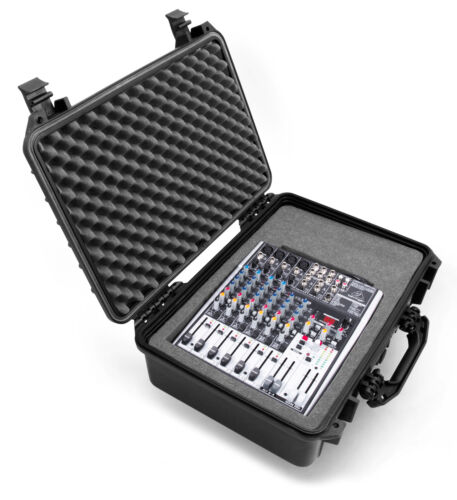 """18"""" XL DJ Mixer Case For Behringer XENYX X1204USB , 1204USB and More - CASE ONLY"""