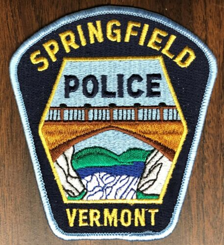 P276   SPRINGFIELD, VT.  POLICE DEPARTMENT   PATCH