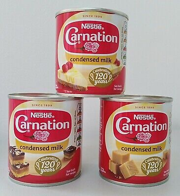 Nestle Carnation Condensed Milk Pack Of 3 x 397 g