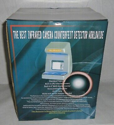 New The Detector Infrared Camera Counterfeit Money Detector Us Canada Euro