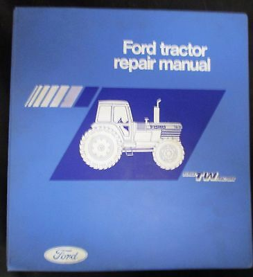Ford Tw-5 Tw-15 Tw-25 And Tw-35 Tractor Repair Manual