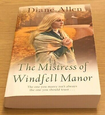 THE MISTRESS OF WINDFELL MANOR Diane Allen Book (Paperback)