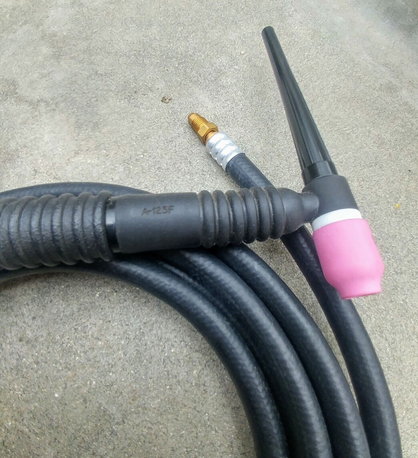 Miller A-125F Flex Head TIG Welding Torch With Gas Lens And Tungsten - $64.95