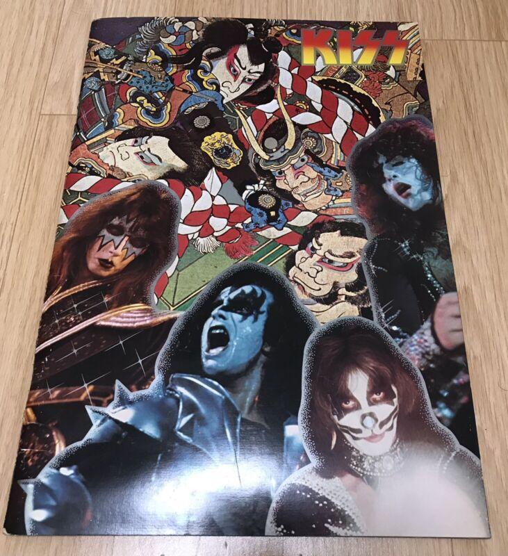 KISS 1st Japan Tour Official Program 1977