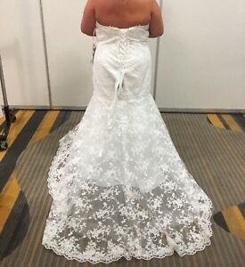 Size 26 mermaid Wedding Gown