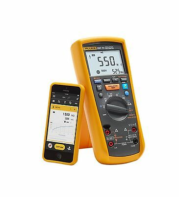 Fluke 1587 Fc 2 In 1 Insulation Multimeter W Fluke Connect 4692740 Brand New