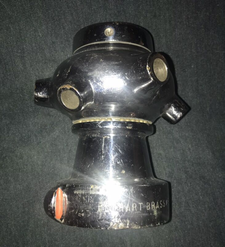 Elkhart Brass Manufacturing Cellar Nozzle Marked SFD  ENG. 2.