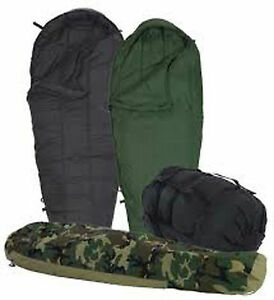 EXCELLENT-4-Piece-Modular-Sleep-System-MSS-Military-Sleeping-Bag-ECWS-30-USGI